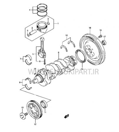 کاتالوگ موتور گرند ویتارا JB420